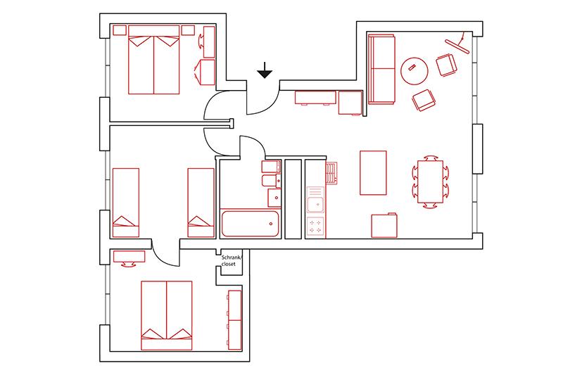 Grundriss / Ground plan